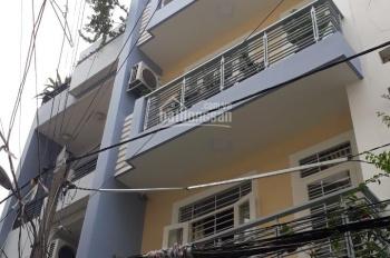 Cho thuê nhà 4 tấm rộng 5x18m hẻm lớn đường Nguyễn Minh Hoàng, P. 12, Q. Tân Bình
