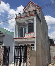 Bán gấp căn nhà mới xây tại Tô Ngọc Vân, Q12, hẻm thông 8m, 1 trệt 1 lầu, giấy tờ chính chủ