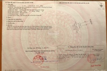 Lô mặt tiền Nguyễn Minh Chấn,đường 7m5,100m2 sát đại học Duy Tân ,sát bến xe Đà Nẵng
