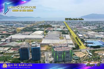Độc quyền bán căn hộ shophouse tầng trệt tại chung cư Hoà Khánh - chỉ có 20 căn - sở hữu lâu dài