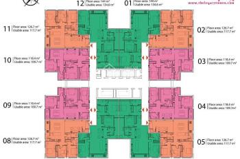 Bán chung cư The Legacy 106 Ngụy Như Kon Tum, giá tốt nhất thị trường, liên hệ: 0989561642