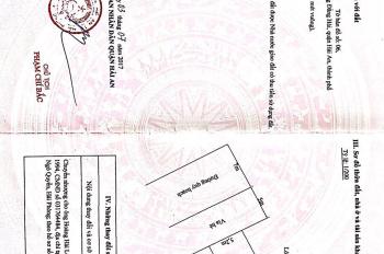 Bán lô đất Tái định cư sau chi cục thuế quận Hải An, Hải Phòng