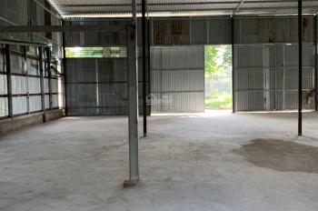 Cho thuê kho xưởng đường xe tải 6 tấn, Quốc Lộ 50, gần chợ Phú Lạc, xã Phong Phú, huyện Bình Chánh