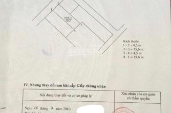 Chính chủ cần tiền bán đất 70m2 TDP Kiên Thành, TT Trâu Quỳ, giá rẻ sập sàn, 0941266633
