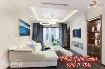 Danh sách Gold Tower 6% - 8% + tặng nội thất, 100.6m - 141.1m2 bàn giao 12/2019 - PKD: 098.115.2882
