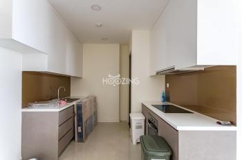 Cần cho thuê căn hộ 2PN tại Masteri Millennium, Quận 4. Giá 23tr/tháng. Miễn phí dịch vụ