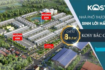Bán đất nền Kosy Bắc Giang - Mảnh đẹp, giá tốt