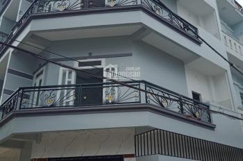 nhà mới 3 lầu ,nội thất đầy đủ,trước nhà 7m đường nhựa.ngay chợ