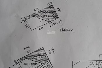 Nhà MT 15 Nguyễn Ngọc Lộc, giá xinh 4.8 tỷ, 3.2x6.2m