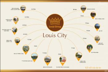 Liền kề vườn II tại khu đô thị Louis City Đại Mỗ 105m2, hướng Tây Bắc, giá 56 tr/m2. Lh 0912494947