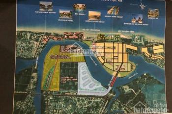 Cho thuê gấp 1600m2 đất 3 mặt tiền biển Cửa Đại, Hội An, ngay mặt biển cạnh KS Mường Thanh
