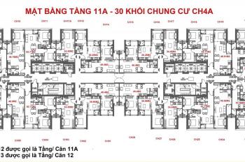 Chính chủ cần bán lại căn hộ A2108 dự án Green Bay Garden Hạ Long, view vịnh trực tiếp giá 900triệu