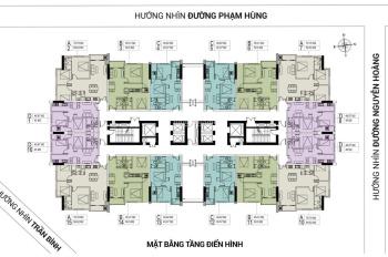 Cần tiền bán căn 1507, dt:69.22m2 CC FLC Green Apartment, giá bán 24.5tr/m2.LH:0963777502
