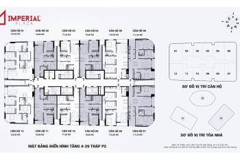 Gấp.Cần bán chung cư Imperial Plaza, căn tầng 1611, dt 79m2, giá 27tr/m2.LH:0963777502