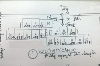 Gia đình cần bán gấp CC HVKTQS 60 Hoàng Quốc Việt, CH 12: 117m2, giá bán gấp 28tr/m2.LH 0971285068