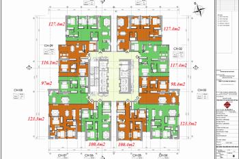 Chính chủ cần bán CC FLC Twins 265 Cầu Giấy, căn 1806, DT 100.4m2,giá 33tr/m2.LH 0971285068