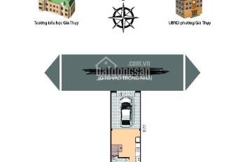 Bán nhà ở xây mới ngõ 548 Nguyễn Văn Cừ, ô tô vào nhà giá 4,5 tỷ