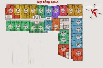 Bán Chung Cư Gemek Tower, căn 1517, DT 75.8 m2, giá 17tr/m2. LH chính chủ 0971285068