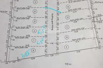 Mở bán 20 lô khu phân lô hẻm 5m Hoàng Hoa Thám. P6 BT lô 1:6x7m giá 4.3 tỷ các lô # 4x15m 6.35 tỷ
