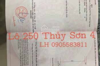 Chính chủ bán đất đẹp đường Thủy Sơn 4 sát Nguyễn Cơ Thạch - 0905583811