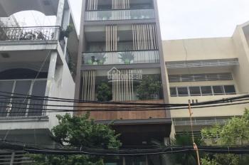 Bán nhà mặt phố phường 4 quận Tân Bình, 5x19m, nở hậu đẹp, 1 hầm 6 lầu thang máy