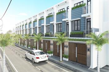 Bán nhà mặt phố 2 lầu, 3PN, DTSD 75m2, ngay chợ đường 8m thông xe, giá 1,4 tỷ/căn