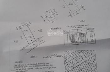 Cần bán nhà góc 2 mặt tiền hẻm 3m đường Lý Thái Tổ, Phường 10, Quận 10