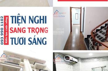 Bán nhà mới xây ngõ 313 đường Đà Nẵng ( ngõ Lông Vũ) đối diện cấp 3 Thái Phiên, 5.18m2 x 4 tầng