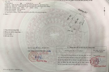 Chính chủ bán đất lấy tiền cho con đường Nguyễn Phan Vinh - An Bàng - Hội An. ĐT 0977575859