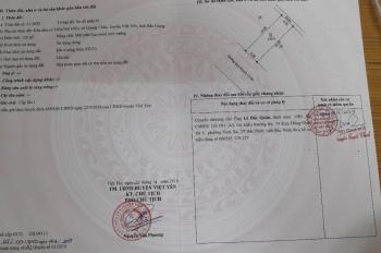 Bán lô đất giãn dân Núi Hiểu, Quang Châu, Bắc Giang. DT 120m2