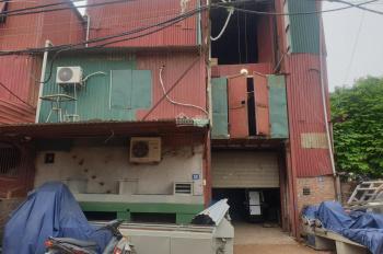 Cho thuê kho ngõ 1035 Tam Trinh, 3 tầng mỗi tầng 350m2, ngõ xe container đi được 42tr/1 tháng