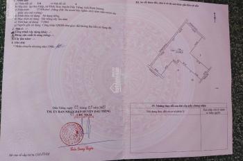 Cần bán gấp đất 4 mặt tiền Minh Hoà, Dầu Tiếng, Bình Dương