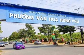 Bán cặp nền đường B2 KDC Hưng Phú 1, 72m2, Tây Bắc, 2,85 tỷ/nền