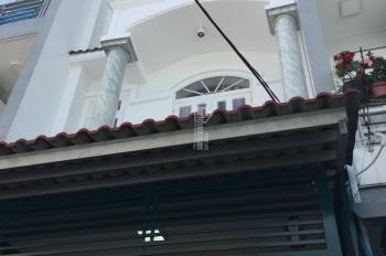 Nhà 1 trệt + 2 Lầu DT 4x14m giá 4 tỷ 500tr, đường 38, Hiệp Bình Chánh, LH 0908284781 - 0908016419