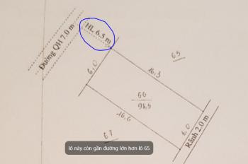 Chính chủ bán đất đấu giá KĐT mới Ninh Khánh, Việt Yên, Bắc Giang, DT 98.5m2, MT 6m, vị trí đẹp