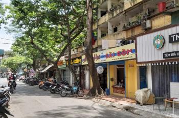 Cần bán gấp nhà tập thể tầng 1 mặt phố Nguyễn Hiền, Bách Khoa, ô tô đỗ cửa vào nhà