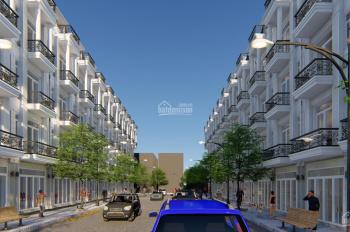 Nhà phố 40 căn giá 1,4 tỷ, 2 lầu, 3PN, ngay chợ, sáng mua tối ở ngay, LH 0912727479