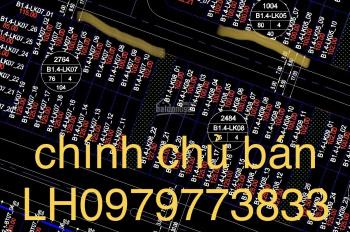 Bán đất liền kề Thanh Hà Cienco 5 Hà Đông Hà Nội, B1.4 LK7 LK5, LH0979773833
