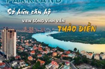 Tháng 10 mở bán, F1 nhận Booking Masteri Parkland, gần khu Thảo Điền, Q2. LH 0937 047 847