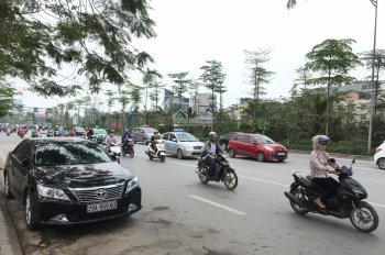 Bán 120m2 đất mặt phố Cầu Giấy, Nguyễn Văn Huyên, Xuân Thủy. Vị trí đắc địa, kinh doanh siêu đỉnh.