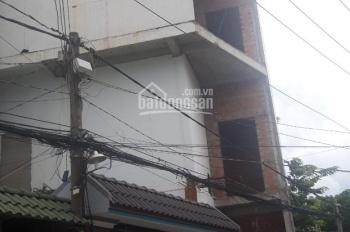 Nhà trọ hoặc văn phòng: 4 lầu + hầm + thang máy, MT đường 8, Linh Chiểu
