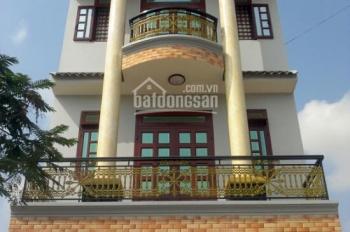 Nhà 2 mặt tiền 1 trệt, 2 lầu mới xây đẹp, tiện KD tại nhà, đường thông 8m, SHR, giá rẻ 1.6 tỷ