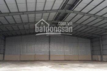 Cho thuê nhà xưởng đường Nguyễn Ảnh Thủ, phường Hiệp Thành, quận 12. DT 1.200m2, 65tr/th