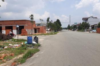Nhượng lại lô đất 330m2 mặt tiền ngay ngã tư chợ tự phát cách đường Mỹ Phước Tân Vạn 100m, dân đông