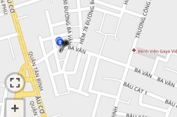 Bán nhà mặt tiền kinh doanh 159 Ba Vân, P14, Tân Bình, DT 50 m2, Cấp 4, vị trí đẹp gần Âu Cơ