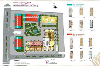 Chính chủ cần bán lô ki ốt TSG Lotus Sài Đồng, khu vực sầm uất, đem lại giá trị kinh doanh cao
