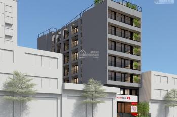Cho thuê building mt 10,5m, 330m2 x 8 tầng và 2 hầm tại đầu đường Hoàng Hoa Thám, đường Bưởi