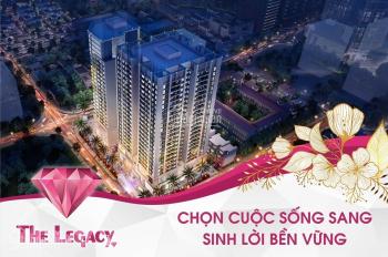 Chung cư Legacy chỉ từ 32 tr/m2 - Quà 130 tr - CK TT nhanh 3% - căn đẹp, tầng đẹp. LH: 0966983883