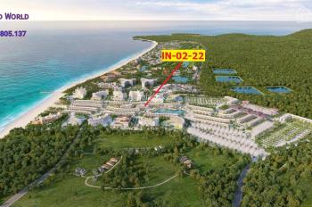 Shophouse Indochine trên 2 tỷ-căn gần góc rộng thoáng, thẳng ra biển Grand World Phú Quốc.