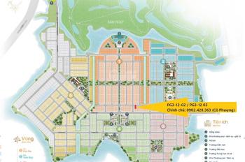 Chính chủ bán nhanh cặp nền PG3 - 12 - 02, PG3 - 12 - 03, đường 15m khu trung tâm. Miễn trung gian